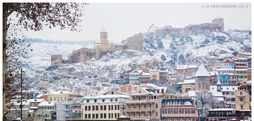 Capital City in Winter